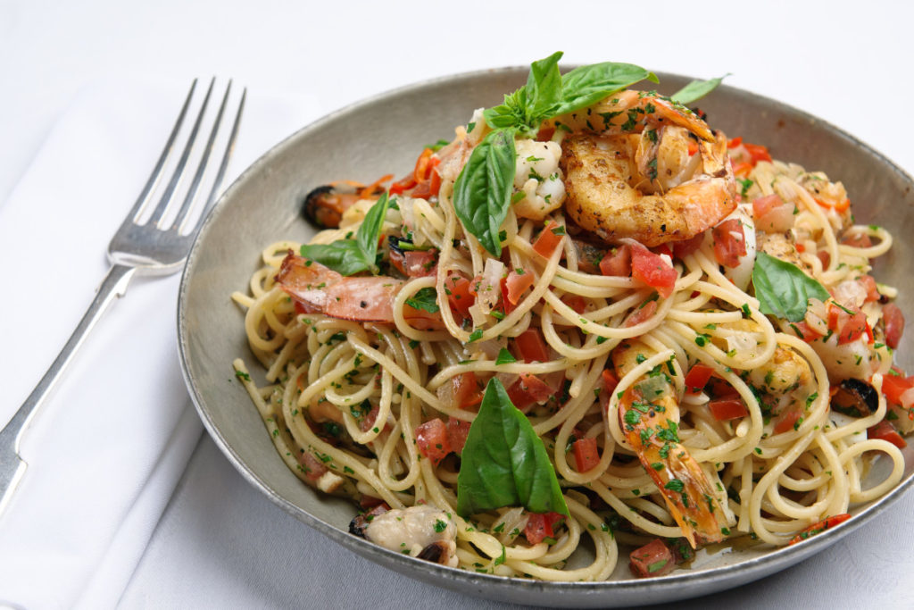 FRESH SEAFOOD, PARSLEY AND HERB PASTA | Henschke